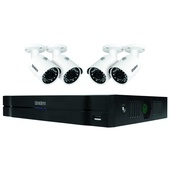 Uniden Guardian NVR Full HD+ Security System with 4x Weatherproof 1080p (2MP) Cameras