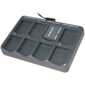 Eartec CHLX8E Multi-Port Charging Base with Adapter for 8 Batteries