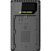 NITECORE UCN1 Dual-Slot USB Travel Charger for Canon LP-E6, LP-E6N, and LP-E8