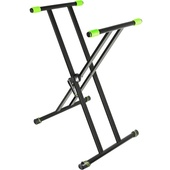 Gravity GKSX2 Double X-Form Keyboard Stand (Black)