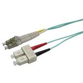 DYNAMIX 50u LC/SC OM3 Fibre Lead (1m)