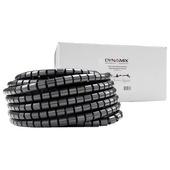 DYNAMIX Easy Wrap Cable Management Solution (Black, 20m x 20mm)