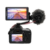 """Feelworld F6 5.7"""" 4K HDMI On-camera Monitor with Tilt Arm"""