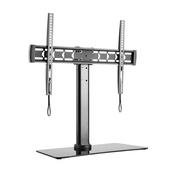 Brateck LDT03-11LT Tempered Glass TV Desk Stand
