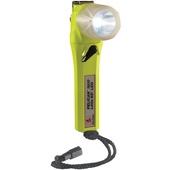 Pelican 3610 Little Ed Right Angle LED Flashlight with Photoluminescent Shroud (Yellow)