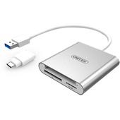UNITEK USB 3.0 to Multi-In-One Aluminium Card Reader