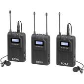 BOYA BY-WM8 Pro-K2 UHF Wireless Mic Kit