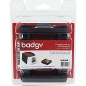 Evolis Badgy Consumable Pack for Badgy100 & Badgy200 Card Printers (100 Prints)