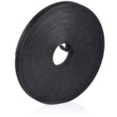 VELCRO Qwik Cable Tie (12.5mm x 22.8m, Black)