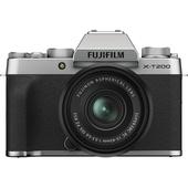 Fujifilm X-T200 Mirrorless Digital Camera with 15-45mm Lens (Silver)