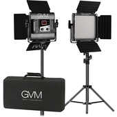 GVM Bi-Colour LED 2 Panel Kit