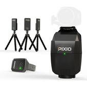 Move 'N See PIXIO Motion Tracking Robot with Tracking Watch and 3 Micro Beacons