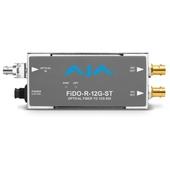 AJA Fido-R-12G-ST ST Fibre to 12G-SDI Receiver (1 Channel)