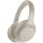 Sony WH1000XM4S Wireless Noise-Canceling Over-Ear Headphones (Silver)