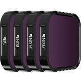 Freewell 4K Series Standard Day Filter Set for GoPro HERO9 Black (4-Pack)