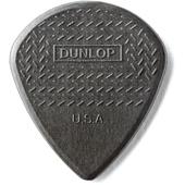 Dunlop MAX-GRIP JAZZ III Guitar Pick Carbon Fiber - 1.38mm (6-Pack)