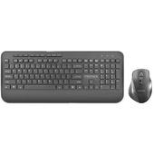 PROMATE ProCombo-8 Ergonomic Full-Size Wireless Keyboard & Mouse Combo