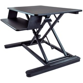 StarTech Sit Stand Desk Converter with Keyboard Tray - Large (90 x 54cm)