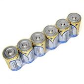 Maxell Alkaline Size D Battery (6-Pack)