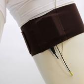 Ursa Thigh Strap with Vertical Pouch (Black)