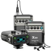 Xvive Audio U5T2 2-Person Camera-Mount Digital Wireless Omni Lavalier Microphone System