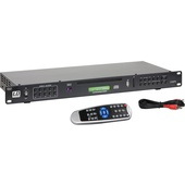 """LD Systems CDMP1 19"""" Rackmount Multimedia Player with Remote"""