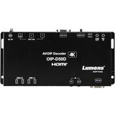 Lumens OIP-D50D 4K HDMI / VGA AVoIP Decoder