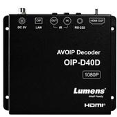 Lumens OIP-D40D 1080p HDMI AVoIP Decoder