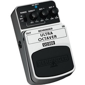 Behringer UO300 Ultra Octave Stompbox Effect Pedal