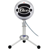 Blue Snowball USB Condenser Microphone (Brushed Aluminium)