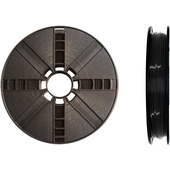 MakerBot 1.75mm PLA Filament (Large Spool, 09. kg / 2 lb, True Black)