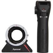 Aputure DEC Wireless Focus & Aperture Controller EF and EF-S Mount Lens to E-Mount Cameras