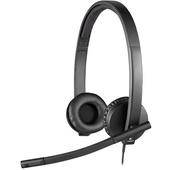 Logitech H570e USB Headset MS Lync Compatible Stereo