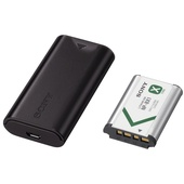 Sony Battery and Travel DC Charger Kit with NP-BX1 Battery