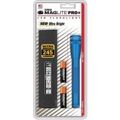 Maglite Mini Maglite Pro+ 2AA LED Flashlight with Holster (Blue)