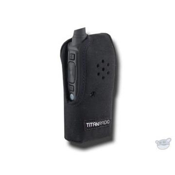 Titan Radio TR4NC3 Vertical Nylon Case with Belt Clip for TR400