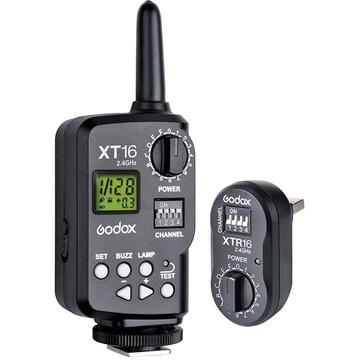 Godox XT16 Wireless Power-Control Flash Trigger Transmitter