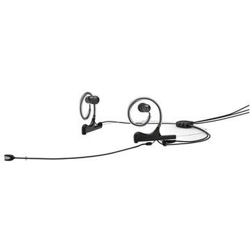 DPA Dual-Ear Directional Broadcast Headset Microphone (Black)
