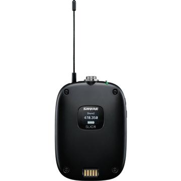 Shure SLXD1 Digital Wireless Bodypack Transmitter