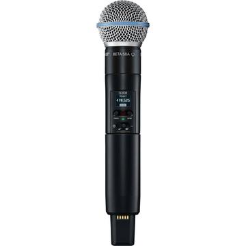 Shure SLXD2/B58 Digital Wireless Handheld Microphone Transmitter with Beta 58 Capsule