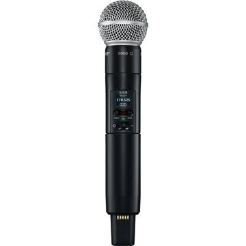 Shure SLXD2/SM58 Digital Wireless Handheld Microphone Transmitter with SM58 Capsule