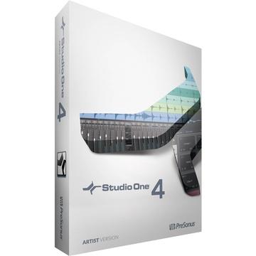 PreSonus Studio One 4 Artist - Audio and MIDI Recording/Editing Software