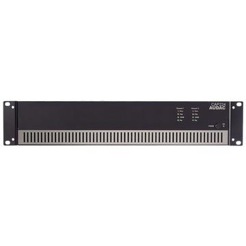 Audac CAP224 Dual-Channel Power Amplifier 2 X 240w 100v