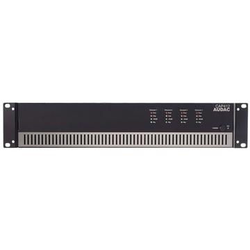 Audac CAP412 Quad-Channel Power Amplifier 4 X 120w 100v