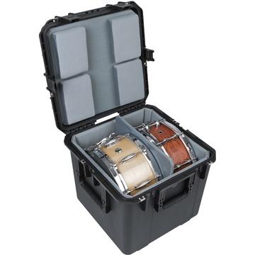 SKB 3i-1717-16LT iSeries Dual Snare Waterproof Utility Case