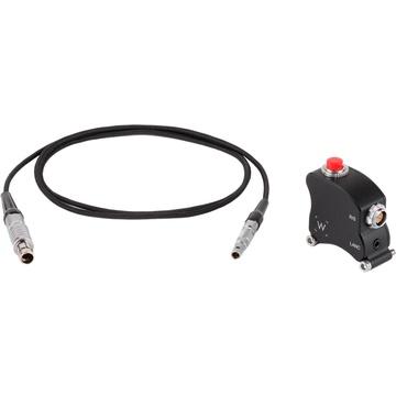 Wooden Camera Handgrip Trigger Box for RED DSMC1/DSMC2 V-Lock Expander and Jetpacks