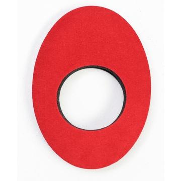 Bluestar Large Oval Eyecushion - Microfibre (Red)