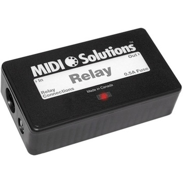 MIDI Solutions Relay MIDI Event-Controlled Relay