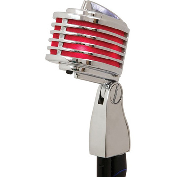 Heil Sound The Fin Dynamic Cardioid Microphone (Chrome, Red LED)