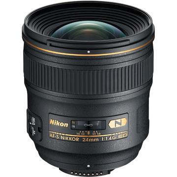 Nikon AF-S 24mm f1.4G ED - includes HB-51 Lens Hood
